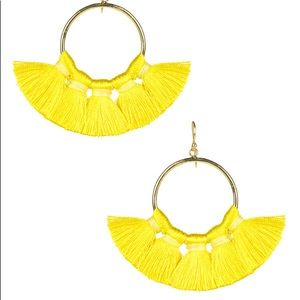 Lisi Lerch Gameday Tassel Earrings - Yellow